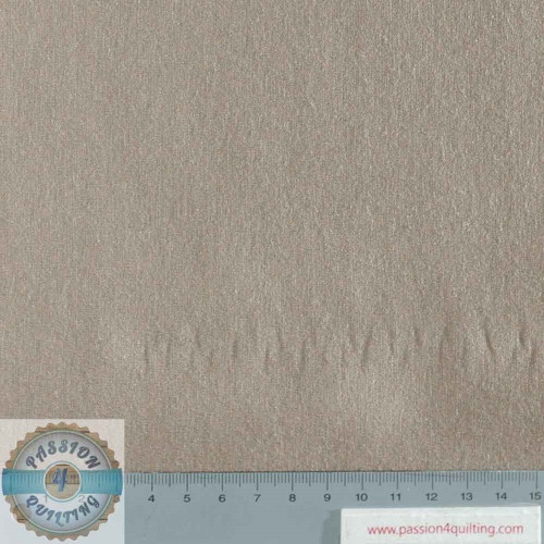 Rose & Hubble True Craft Cotton Silver Mink per 25cm