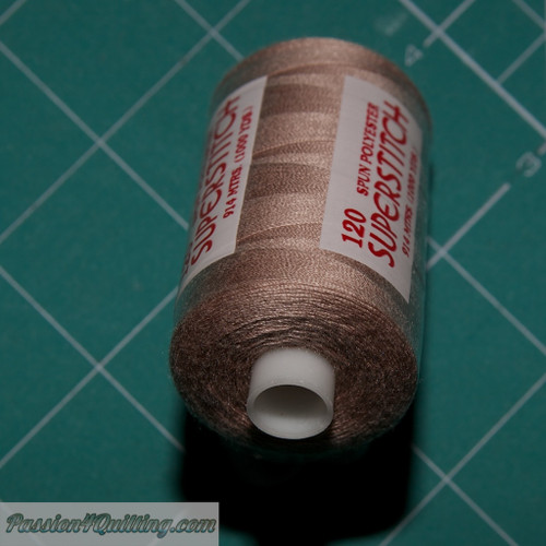Orange Brown Super stitch polyester thread