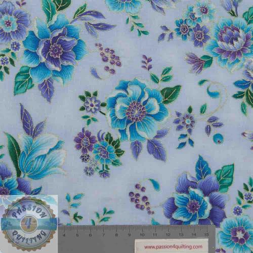 Regency 7311 lavender by Chong A Hwang per 25cm