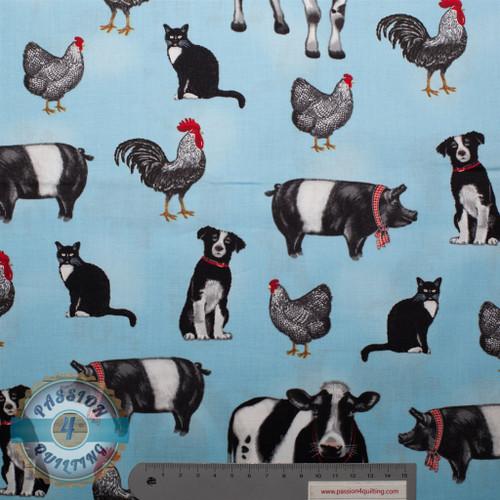 Farm animals per 25cm