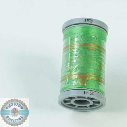 Presencia Cotton Quilting Thread 50wt 500m Colour 153 Green