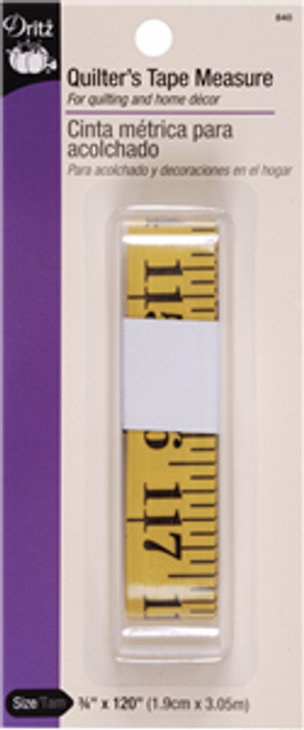Quilters Tape Measure 120 inches long