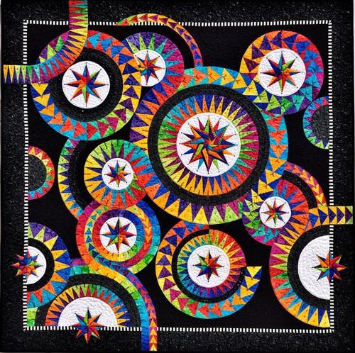 Enchanting stars Quilt Kit  by Jacqueline De Jonge .BC034
