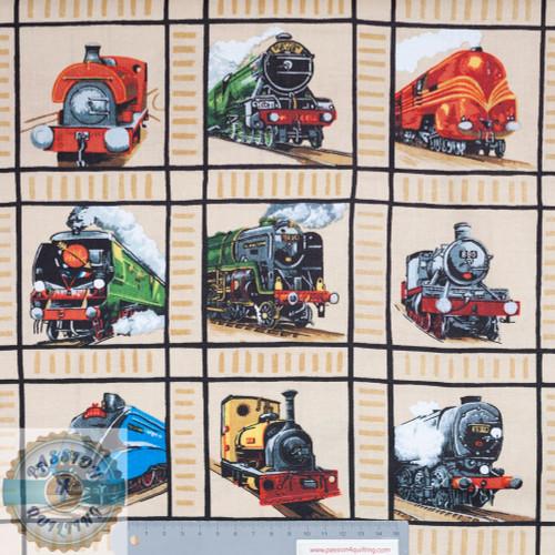 Steam Trains Loco Motion Squares