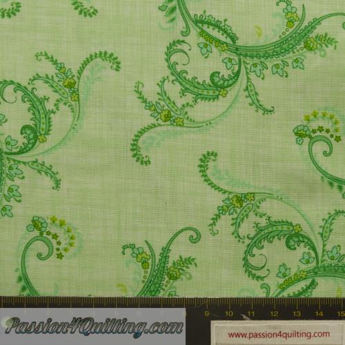Botanica II Sprng Green. fat quarter