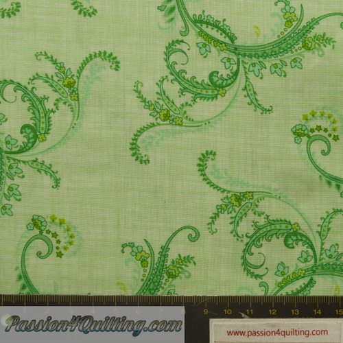 Botanica II Sprng Green. fat quarter