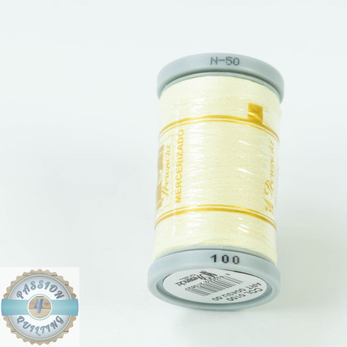 Presencia Cotton Quilting Thread 50wt 500m Colour 100 Cream**