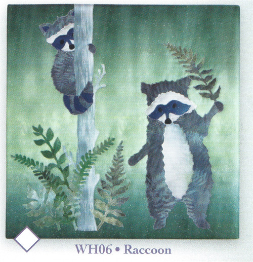 Raccoon from Woodland Hollow by McKenna Ryan WH06