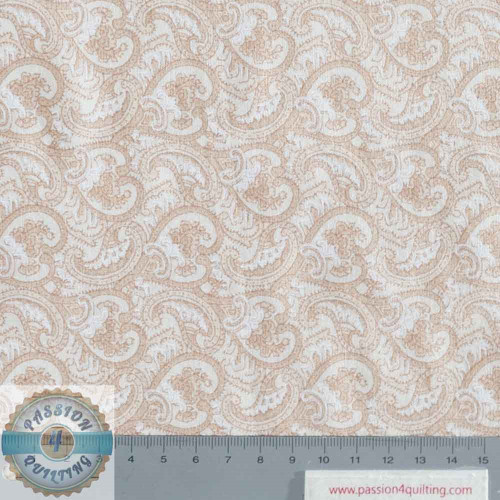 "Beige Waves 63"" wide per 25cm"