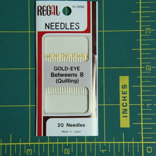 Betweens Size 8 quilting needles