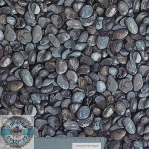 Pebbles Grey per 25cm