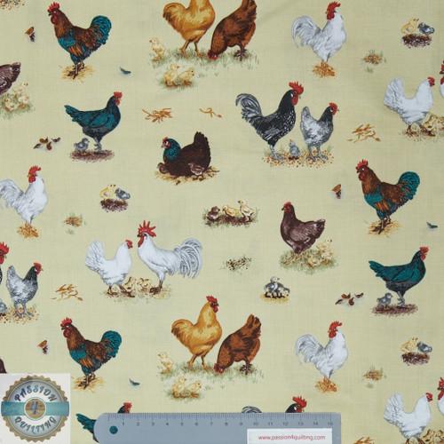 Farm animals chickens per 25cm