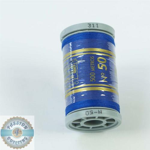 Presencia Cotton Quilting Thread 50wt 500m Colour 311 Royal Blue