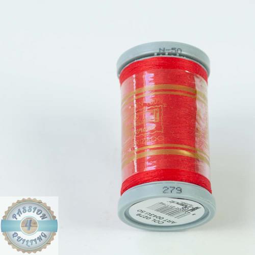 Presencia Cotton Quilting Thread 50wt 500m Colour 279 Red