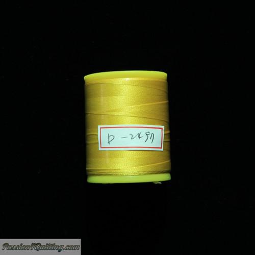 Silk thread yellow D2497