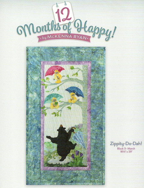 Zippity Do Dah from 12 Months of Happy by McKenna Ryan WH06