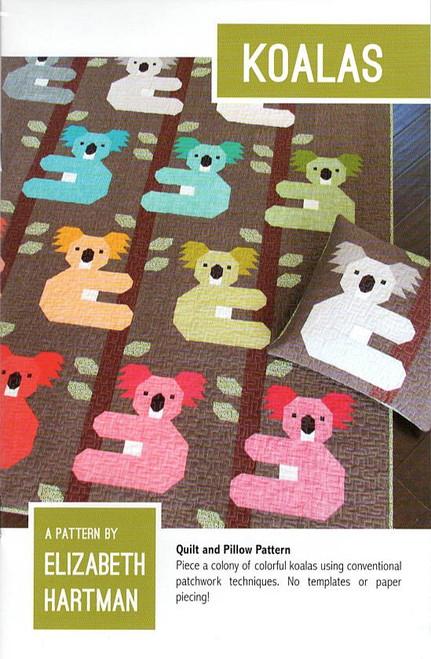 Koalas Quilt Pattern by Elizabeth Hartman.