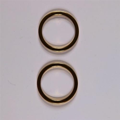Gold O ring 60mm