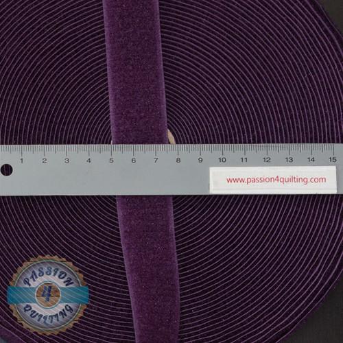 Velcro Fastener in Purple 25cm