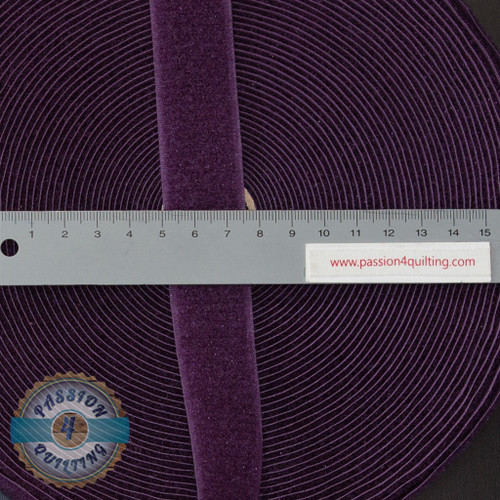 Velcro Fastener in Purple 25cm