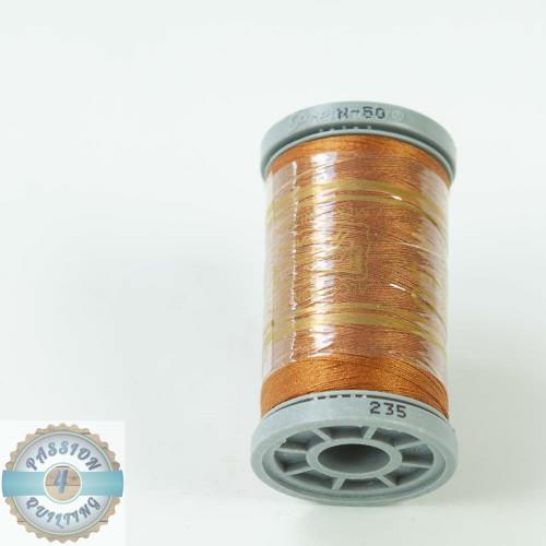 Presencia Cotton Quilting Thread 50wt 500m Colour 235 chestnut Brown