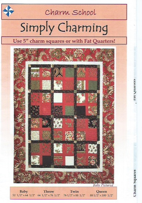 Simply Charming Quilt from Charm School