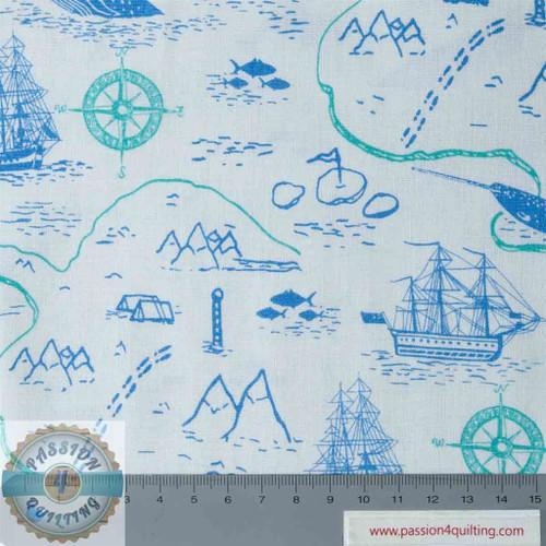 Explore the oceans -Map per 25cm
