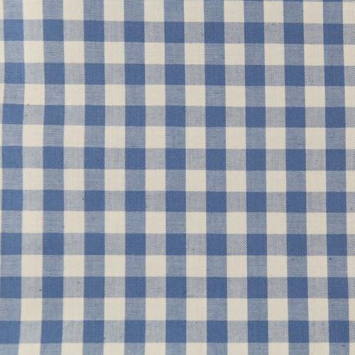 Blue Gingham Per 25 cm