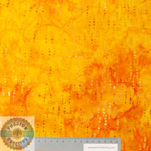 Batik Yellow- Orange Mist 217Q-4  per 25cm