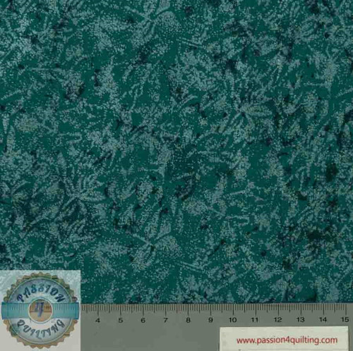 Fairy frost Teal  per 25cm
