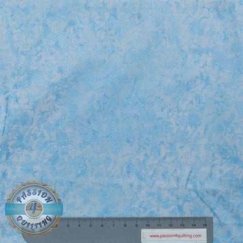 Fairy frost blue sateen. 32. per 25cm