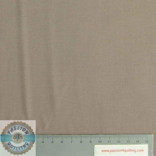 Colour Dark Beige Plain  per 25cm