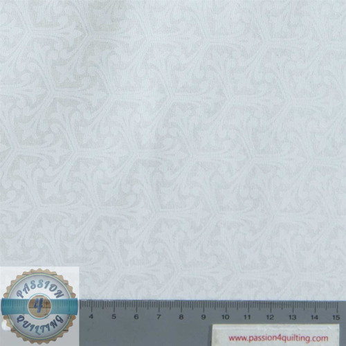 "Cream Triple Spike on cream 108"" wide per 25cm"