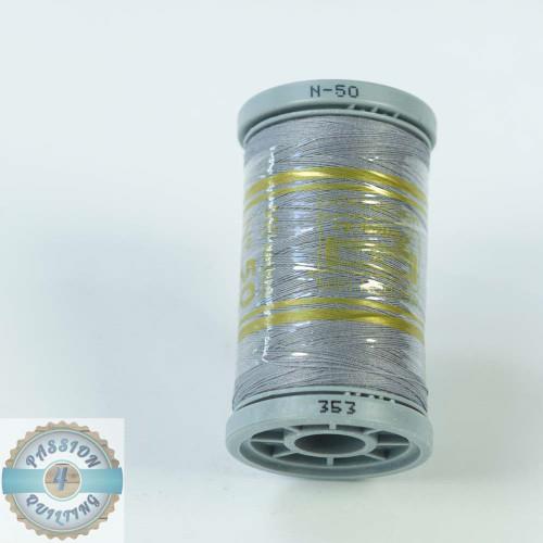 Presencia Cotton Quilting Thread 50wt 500m Colour 353 Light Grey