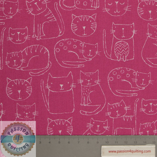 Kitty Outline Pink 1918. per 25cm