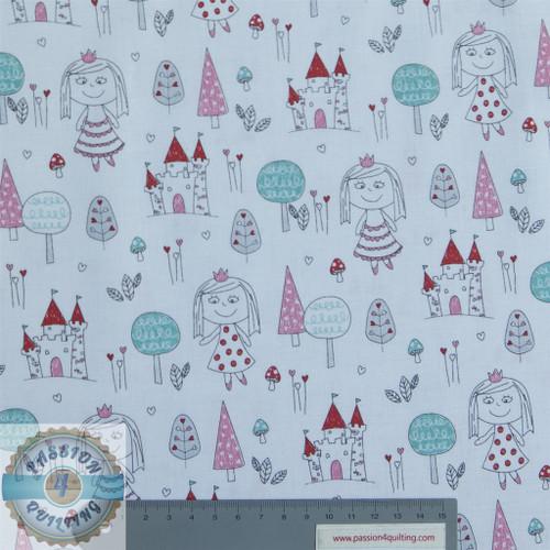 Little Princess Trees and Castles per 25cm