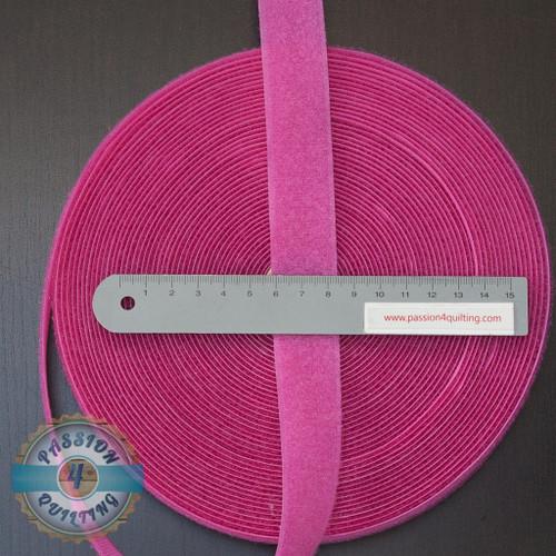 Velcro  Fastener Pink per 25cm