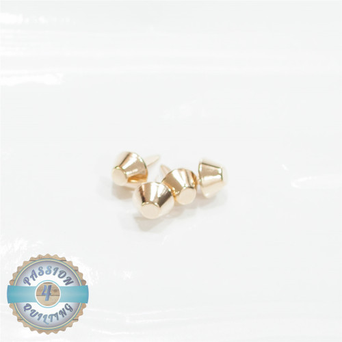 15mm Dia Bag Feet set of 4 Gold