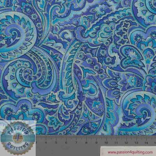 Regency 7315 light blue by Chong A Hwang per 25cm