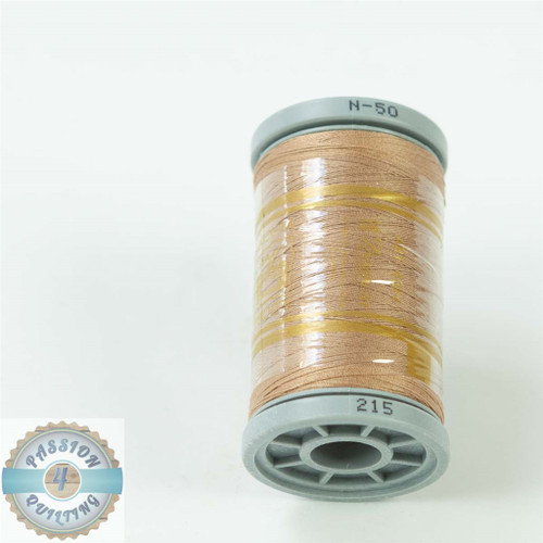 Presencia Cotton Quilting Thread 50wt 500m Colour 215 Light Brown