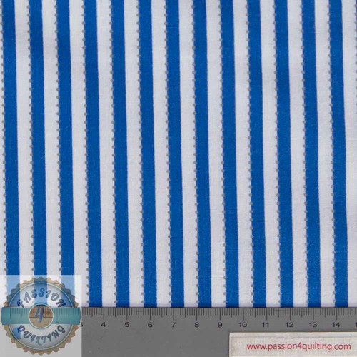 Anthology- Blue Stripe BC28-5 Blue designed by Jacqueline de Jonge per 25cm
