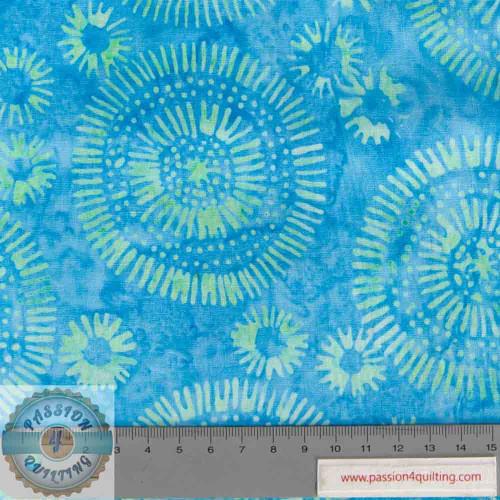 Batik 304Q-3 designed by Jacqueline de Jonge per 25cm