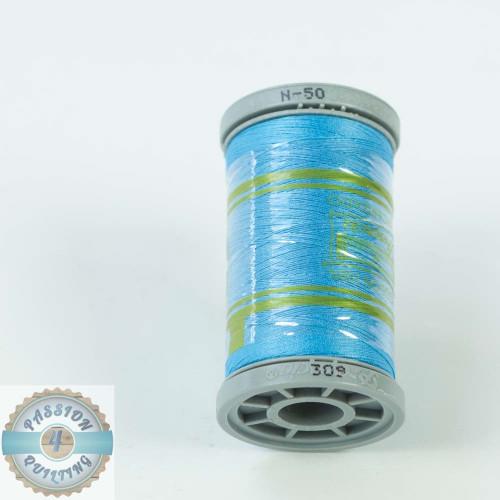 Presencia Cotton Quilting Thread 50wt 500m Colour 309 Blue
