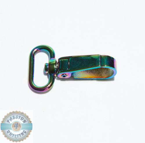 Swivel Multi Coloured  Snap Hooks each