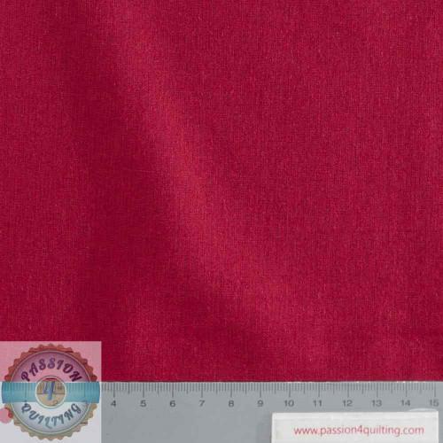 Rose & Hubble True Craft Cotton Crimson 33 per 25cm