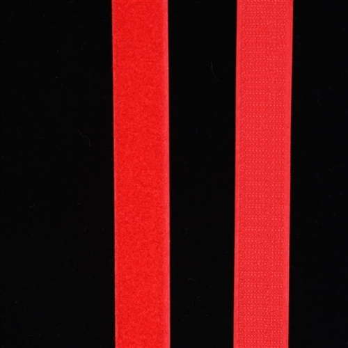 Velcro Fastener in Red 25cm 1