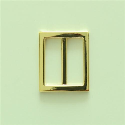 Gold slider square 25mm