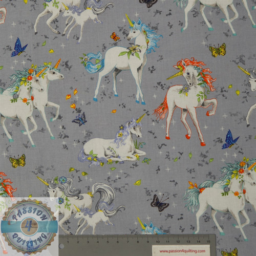 Pretty Please Unicorns 89750 grey