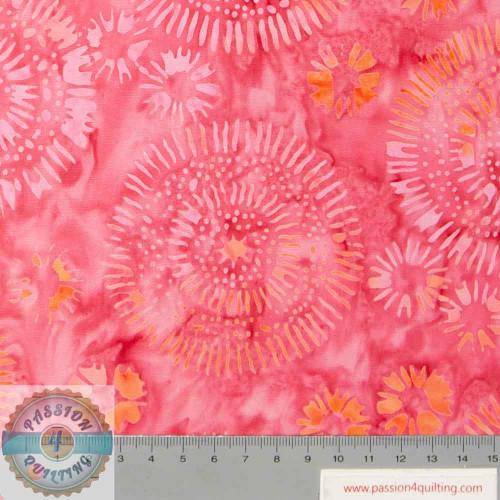 Batik Wish deep pink by Jacqueline de Jonge 304Q-1  per 25cm