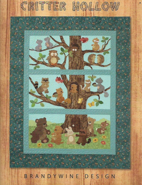 Critters Hollow Quilt Pattern